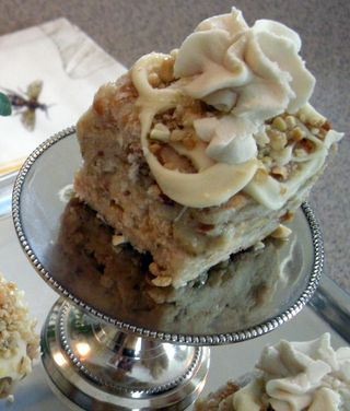 ONE Lemony layered nut cake