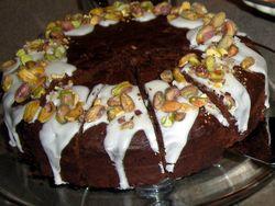 ONE Signature Dark Chocolate Pistachio Torte