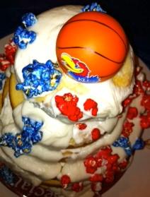 KU Birthday Cake