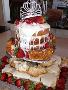 The Strawberry Princess Cake