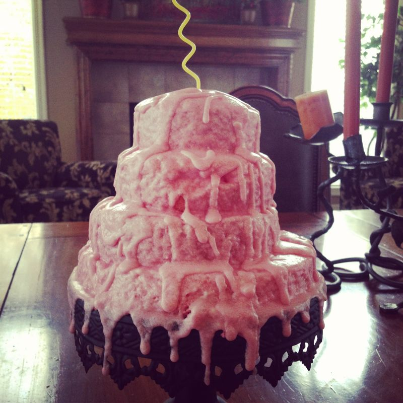A Pink Champagne Cake