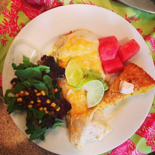 Wow! Chicken Enchilada Dinner